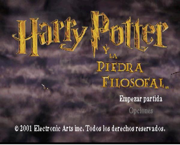 Harry Potter Y La Piedra Filosofal Psx Español Mega Kire Iv